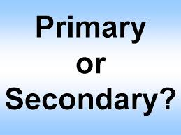 PRIMARY OF SECONDARY